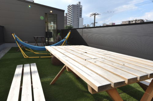 Rooftop|MITSUWAYA SHARED SPACE & FACILITIES