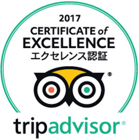 "MITSUWAYA | Selected for ""Certificate of Excellence 2017""for TripAdvisor"
